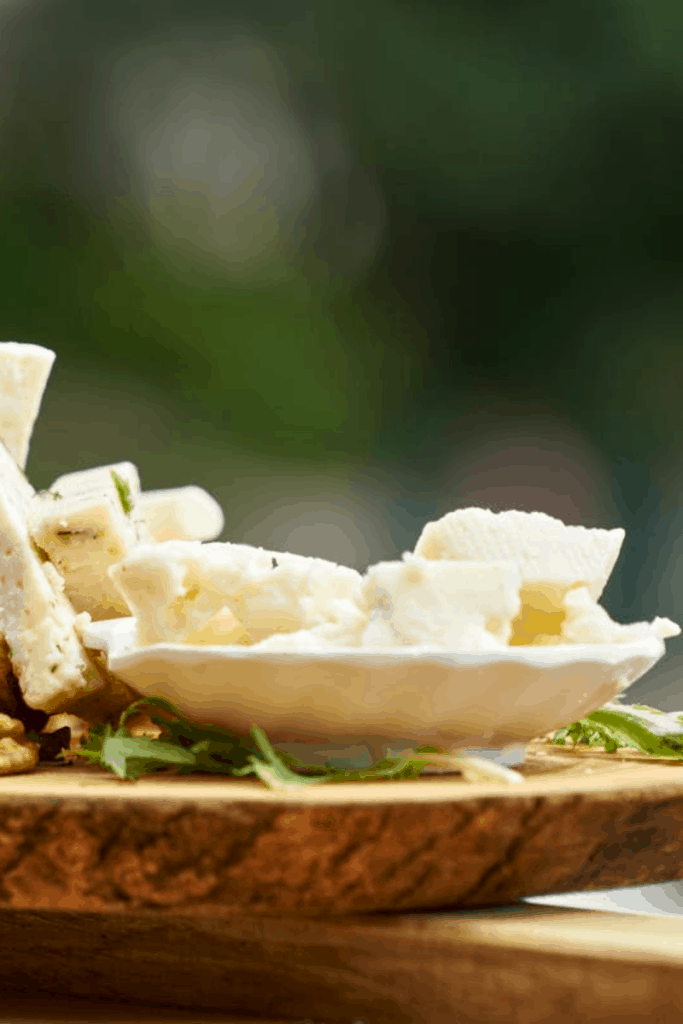 Goat cheese is also a good alternative to feta cheese for salad recipes