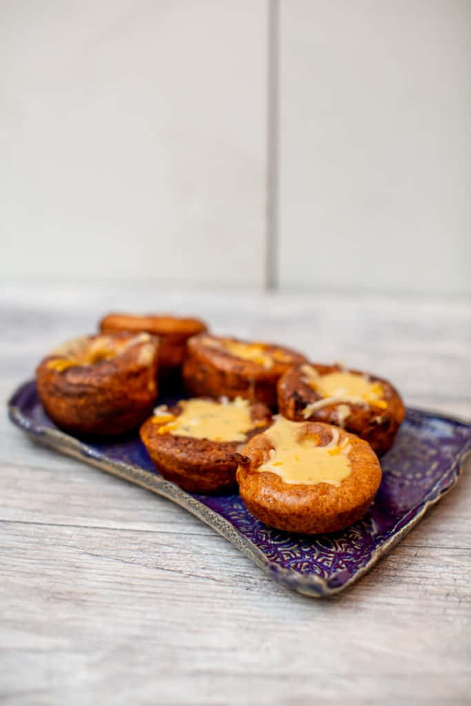 A plate of Yorkshire popovers