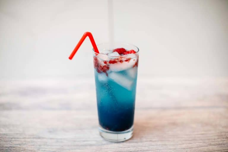 Sour Blue Raspberry White Claw Cocktail Recipe with Rum