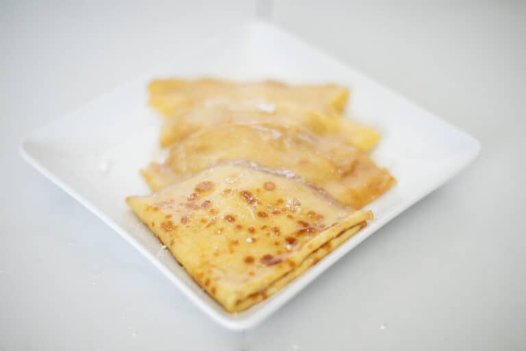 Easy Classic Crepes Suzette Recipe