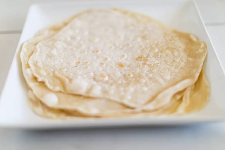 Simple Homemade Soft Flour Tortilla Recipe