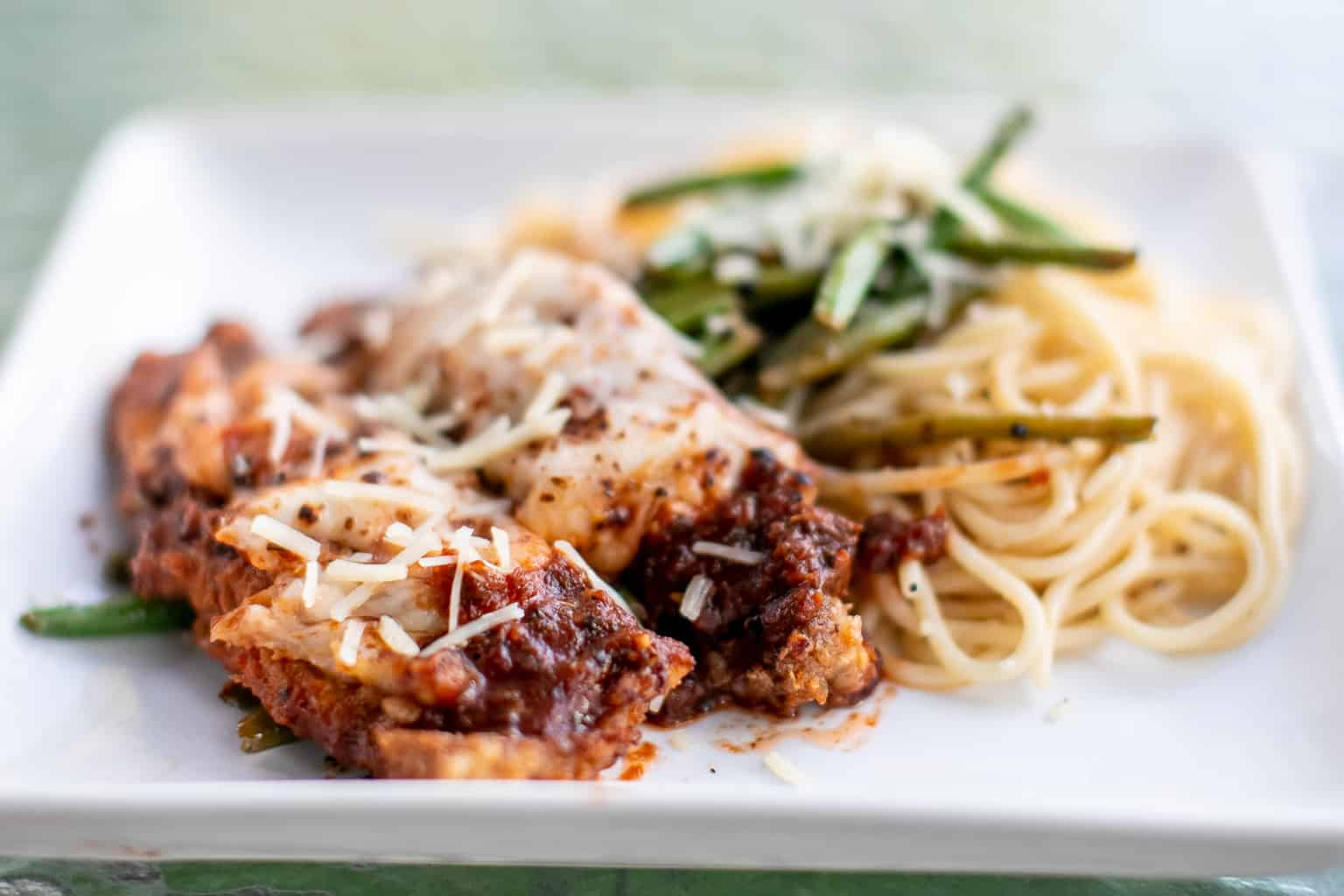 Veal parmigiana with a quick and easy marinara sauce recipe